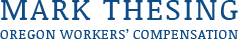 Mark Thesing Inc, Logo